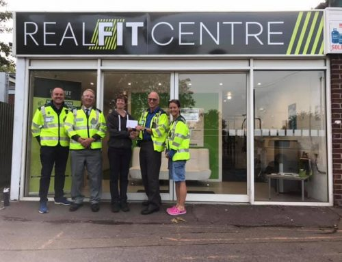 Realfit Riseley Raises Money For Local Charity