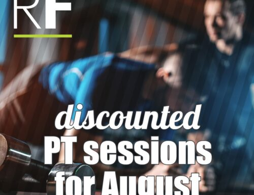 OFFER – Discounted Personal Training During August