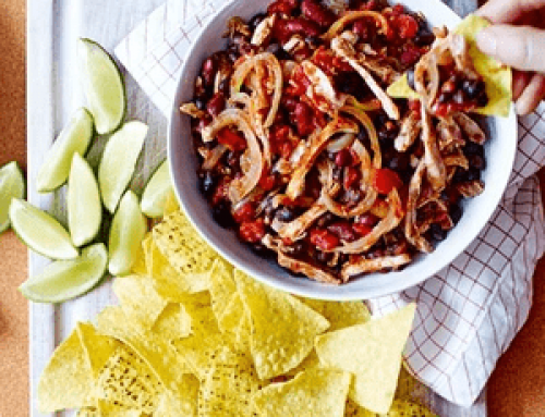 Realfit Recipe of the Week – Mexican Pulled Chicken and Beans (BBC Good Food)